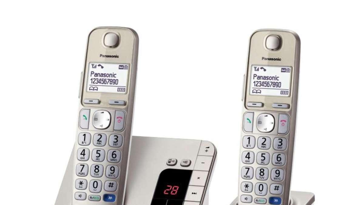test gute dect telefone gibt es ab 40 euro multimedia. Black Bedroom Furniture Sets. Home Design Ideas