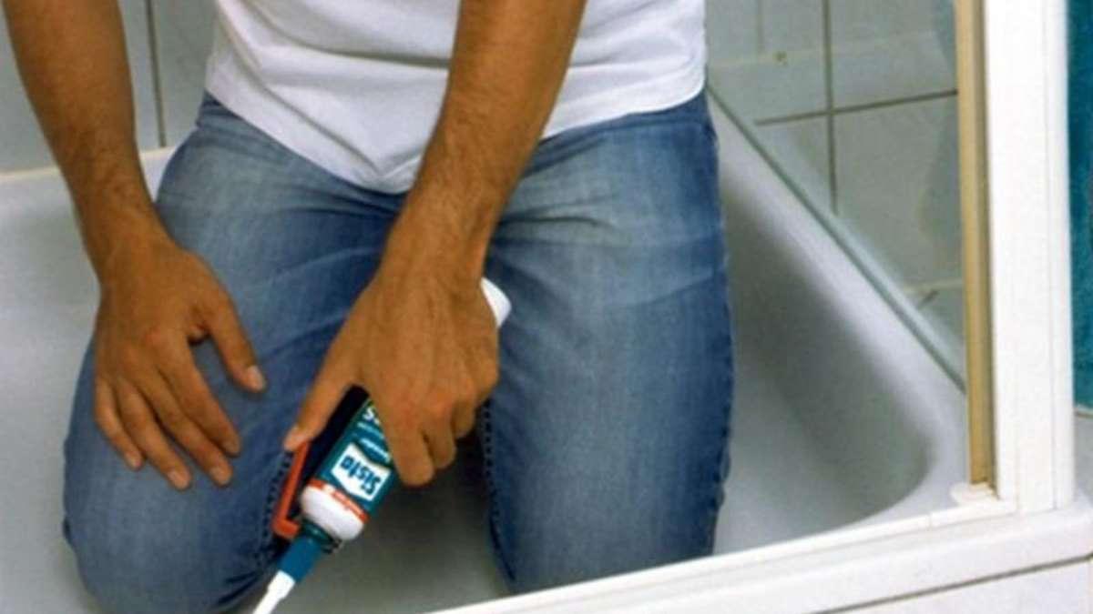 sanitäranlagen mit geeignetem fugenmaterial abdichten | wohnen