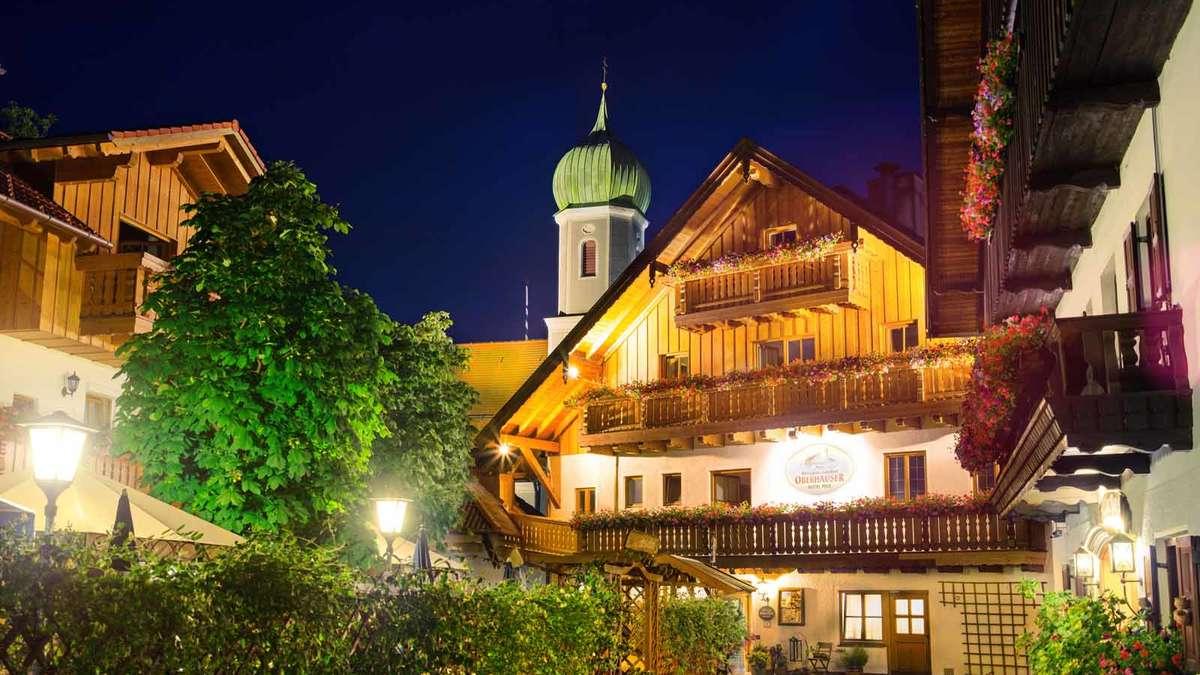 Mehrfach ausgezeichnete bayerische Gaststätte mit