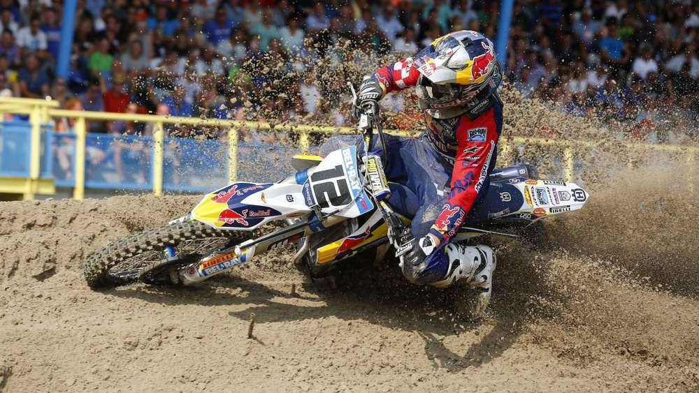 "Max Nagl und Vater Hubert Nagl sind beim ""Motocross of Nations"" in ..."
