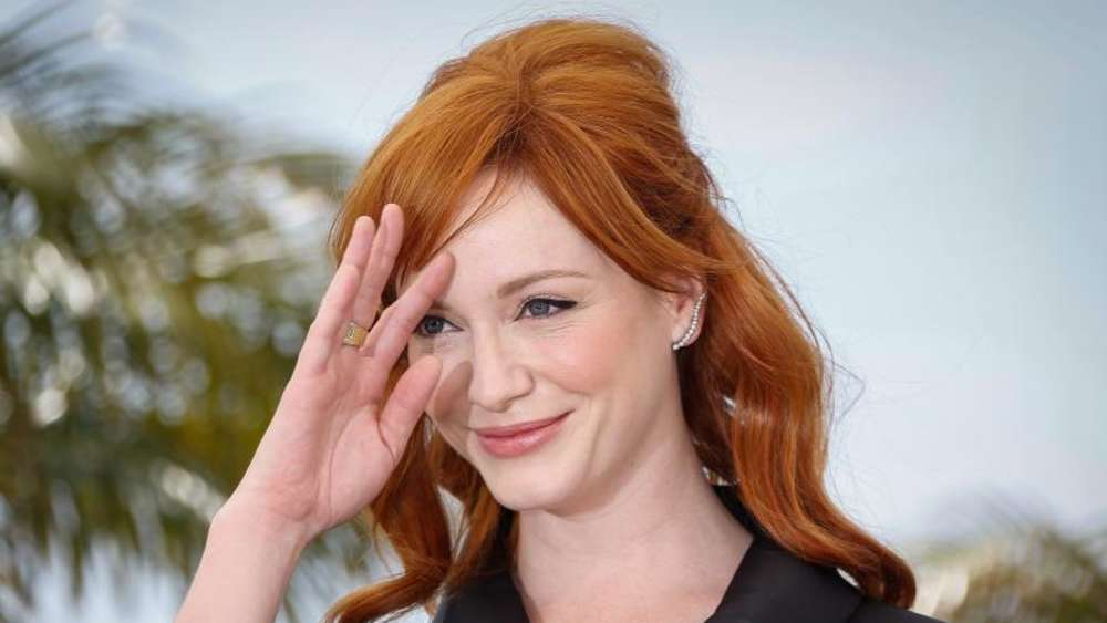 Christina Hendricks 2014 in Cannes. Foto: Julien Warnand