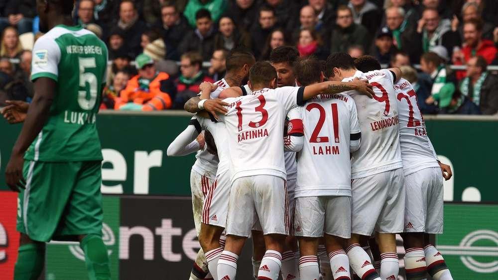 Fc Bayern München Gewinnt Gegen Werder Bremen Fc Bayern