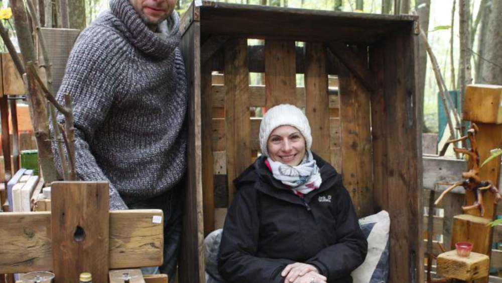 kreatives baustarringer duo brauchbares aus m ll holzland. Black Bedroom Furniture Sets. Home Design Ideas