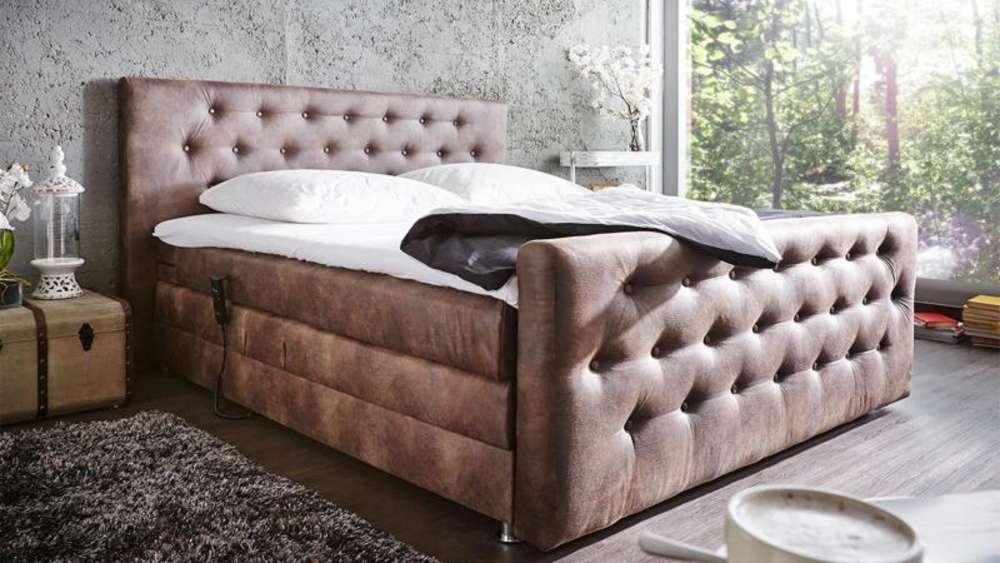 boxspringbetten kommen ohne lattenrost aus wohnen. Black Bedroom Furniture Sets. Home Design Ideas