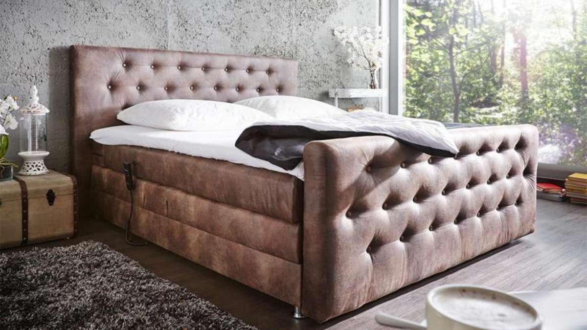 boxspringbetten kommen ohne lattenrost aus wohnen. Black Bedroom Furniture Sets. Home Design Ideas