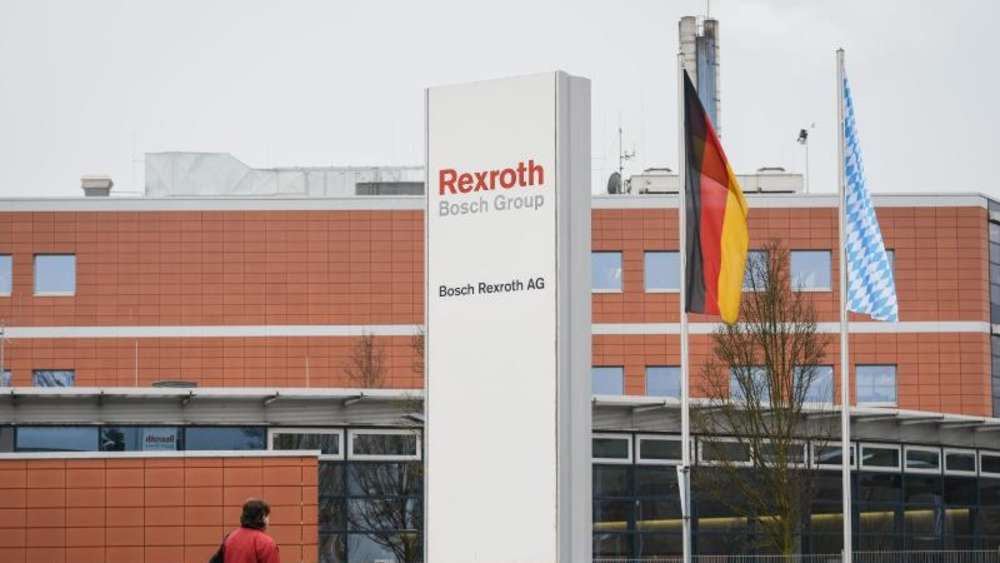 Das Bosch Rexroth-Werk in Lohr am Main (Bayern). Foto: David Ebener
