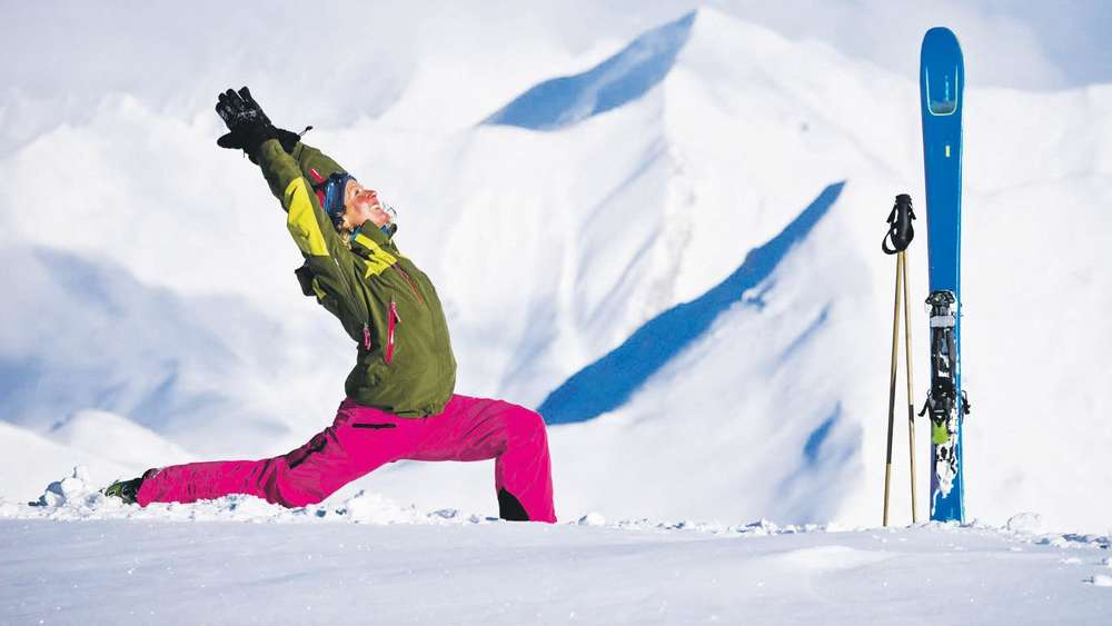 Neu in diesem Winter: Downhill Dog Freeride & Yoga Camps