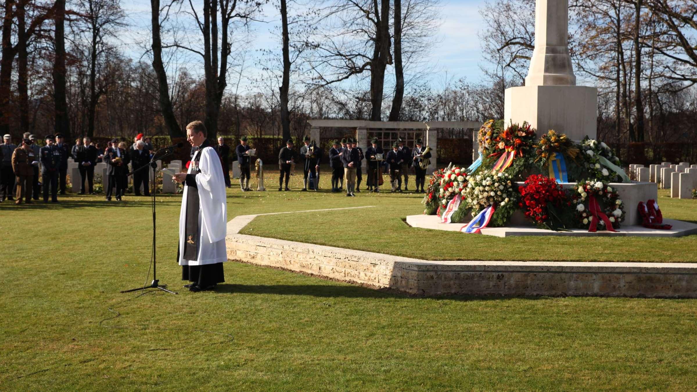 Feierliches Gedenken an Kriegsopfer in Kaltenbrunn und