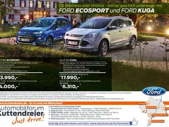 wellness und wildnis mit dem ford kuga oder ecosport. Black Bedroom Furniture Sets. Home Design Ideas