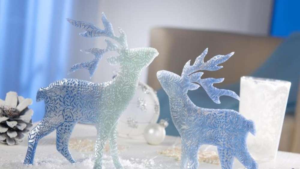 Rentier Bis Sternschale Bastelideen Fur Die Weihnachtszeit Wohnen
