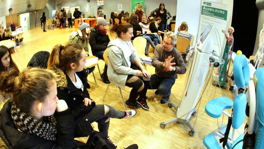 Lebendiger Einblick In Interessante Berufsbilder Freising