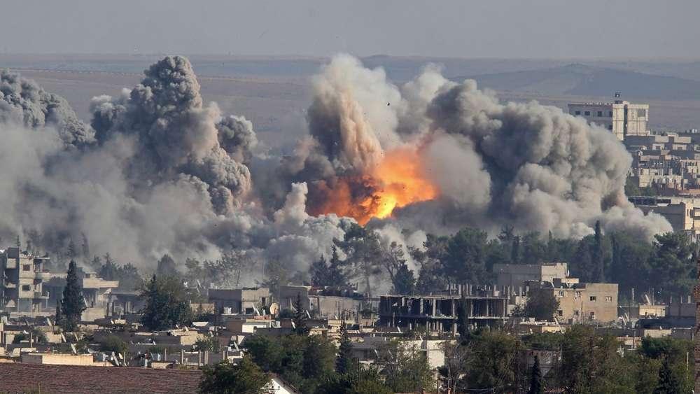 Syrien Bombenangriff