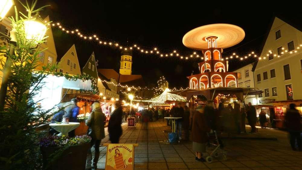 Schongau Weihnachtsmarkt.Weihnachtsmarkt Schongau Dauert Heuer 18 Tage Schongau