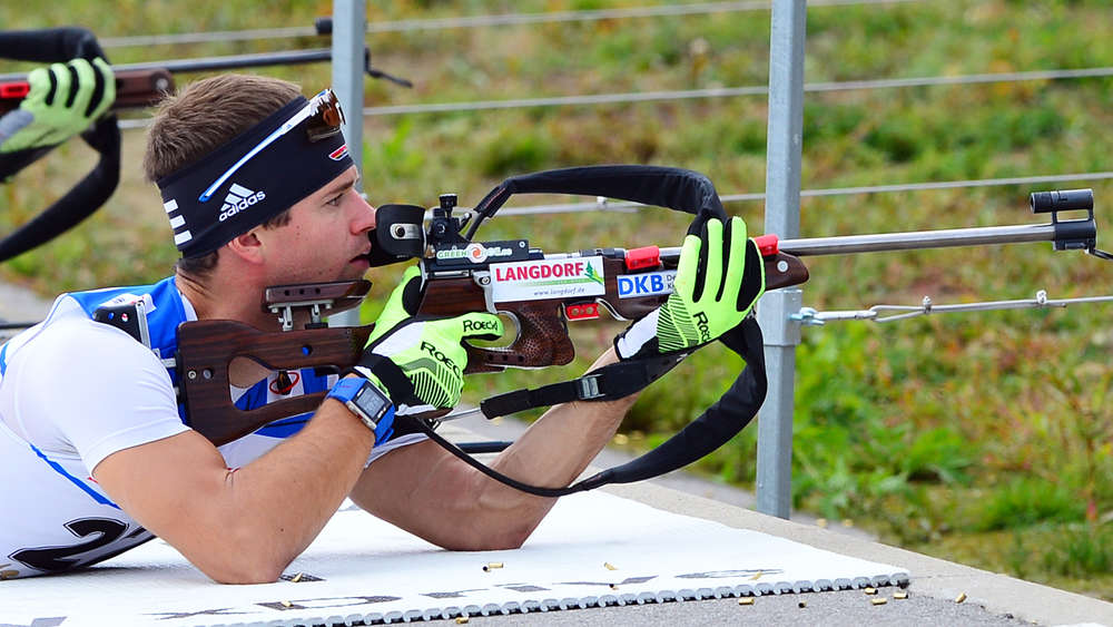 Sept.-5.9.2015 Langdorf, Biathlon DM, Sprint 10 km MEN, Matthias Bischl 19.