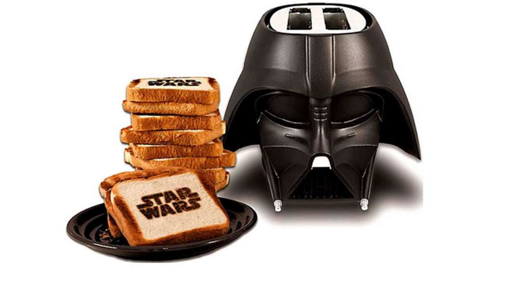 Star Wars 7 Merchandise Darth Vader Toaster