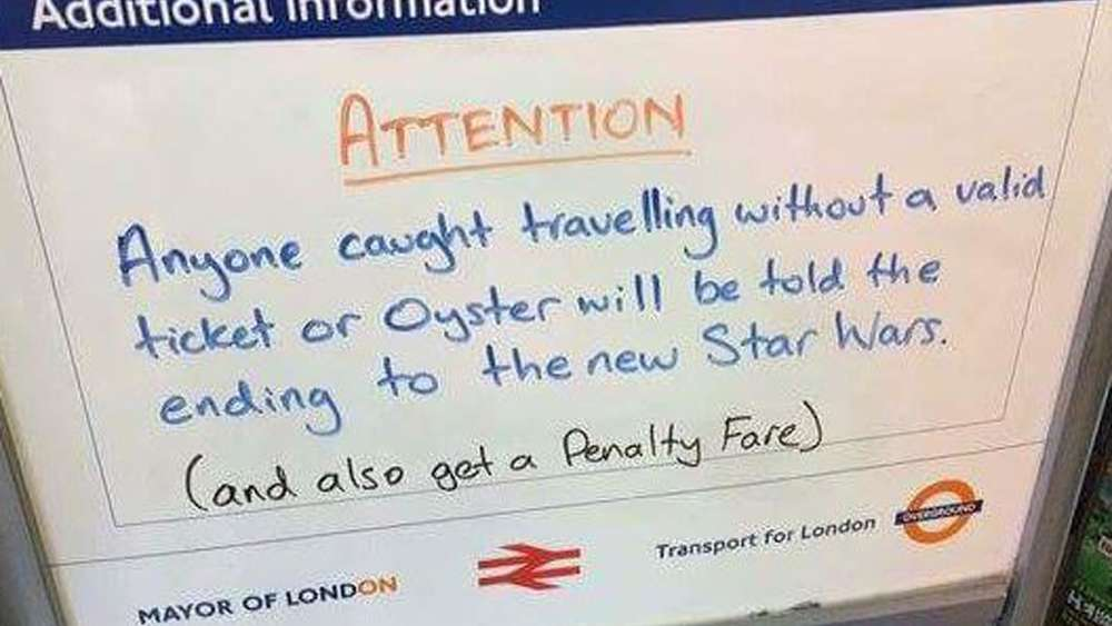Star Wars, Transport for London