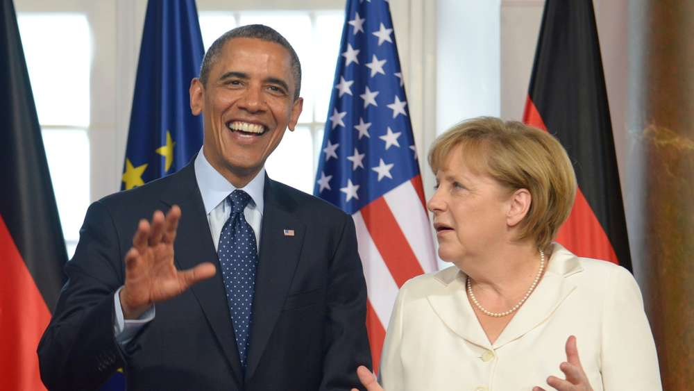 Barack Obama, Angela Merkel, USA, Deutschland