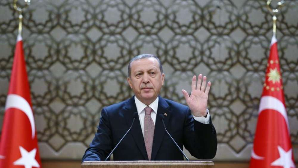 Der türkische Präsident Erdogan Ende November in Ankara. Foto: Turkish President Press Office