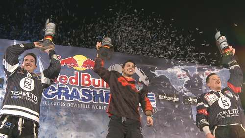Red Bull Crashed Ice: Spektakuläres Finale im Olympiapark