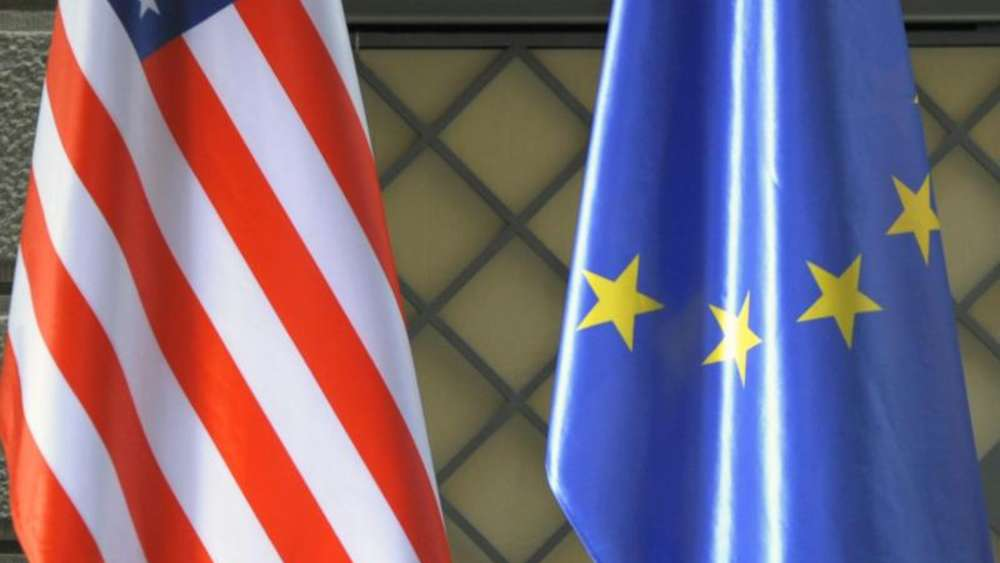 TTIP (Transatlantic Trade and Investment Partnership) ist ein geplantes Freihandelsabkommen zwischen der Europäischen Union und den USA. Foto: Foto: Sören Stache/Archiv