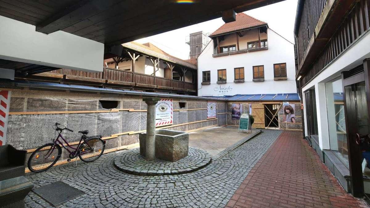 Labyrinth Altstadtgalerien Freising