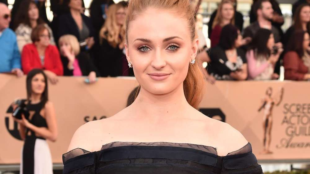 Schauspielerin Sophie Turner bei den Annual Screen Actors Awards.