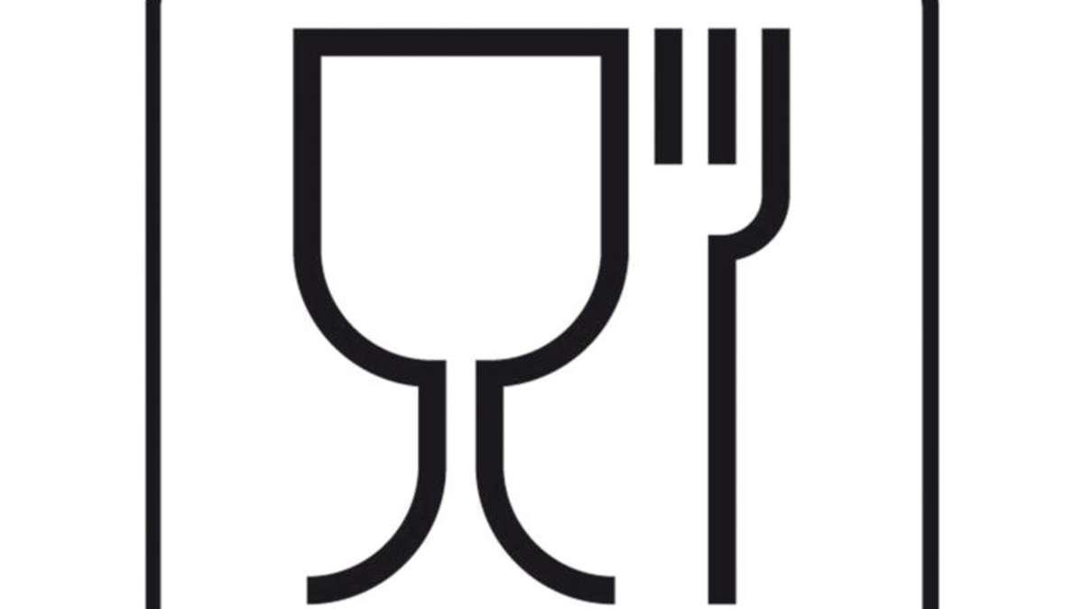 Gut bekannt Glas- und Gabel-Symbol sagt nichts über die AF42