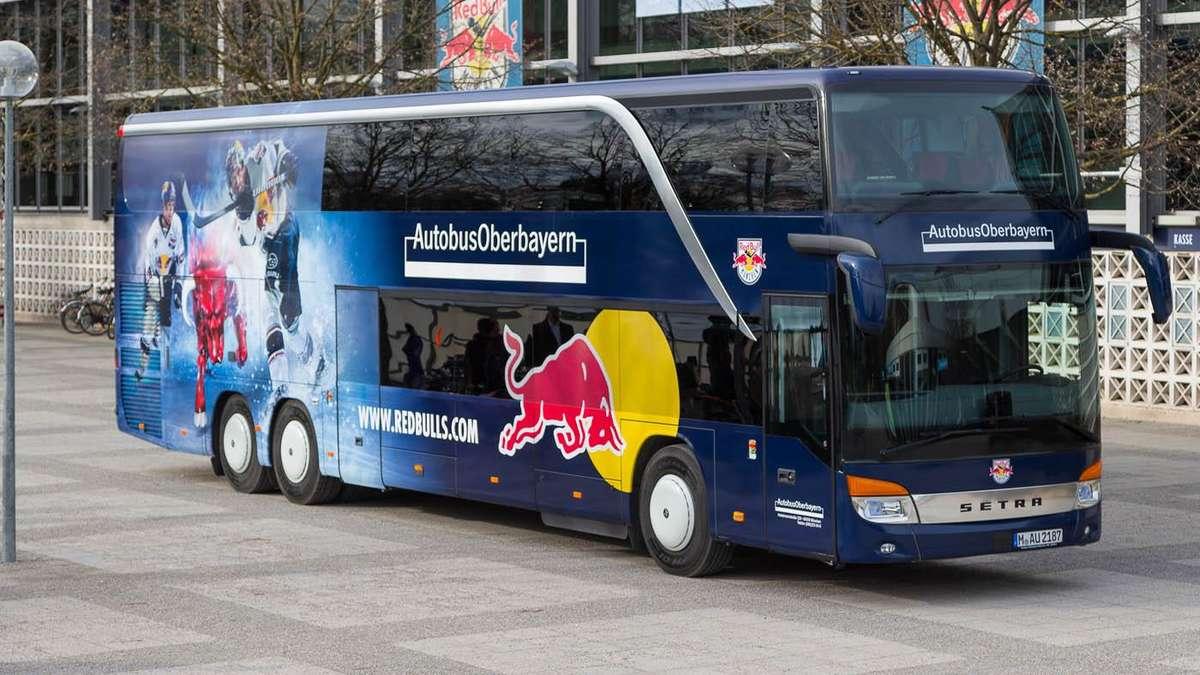 Red Bull Kühlschrank München : Ehc red bull münchen bekommt neuen mannschaftsbus wer sitzt hier
