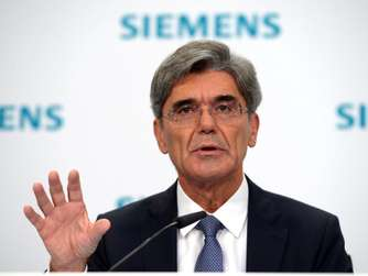 Siemens-Chef Joe Kaeser.