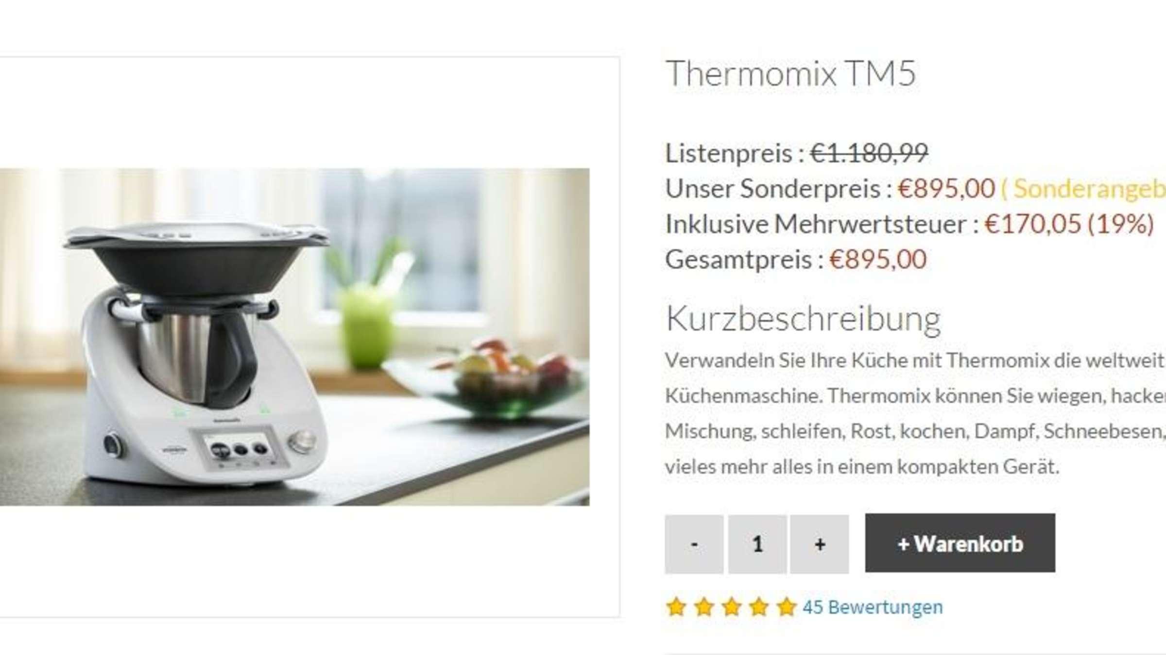 Thermomix-Betrug im Internet: Was Sie wissen sollten ...