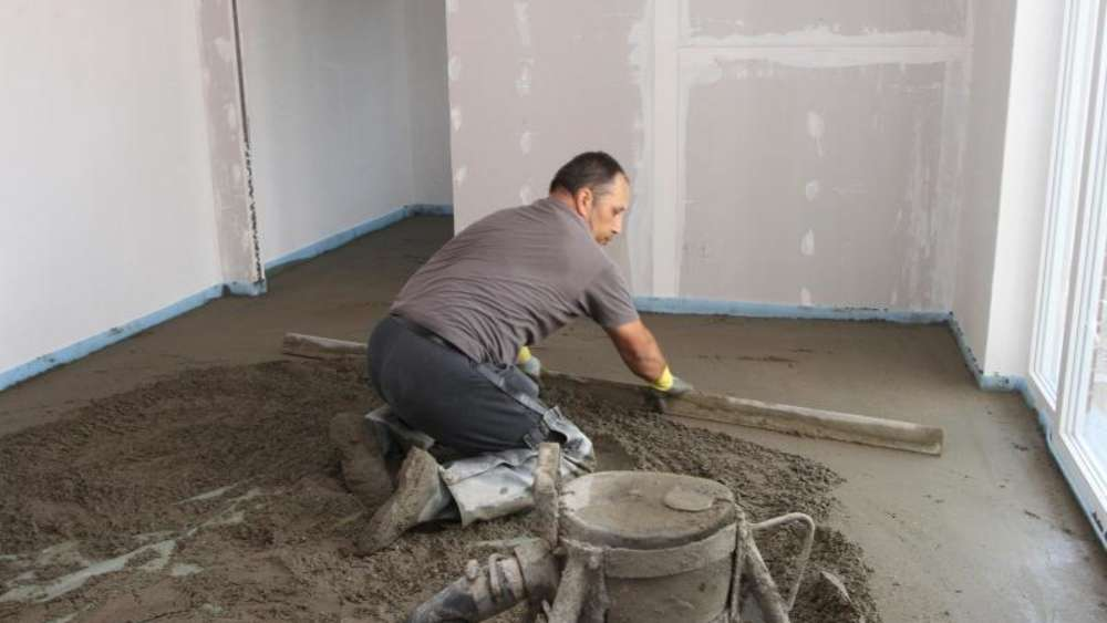 Gut gemocht Neubau nach Estrich und Putz zwei Wochen lang heizen | Wohnen HP57