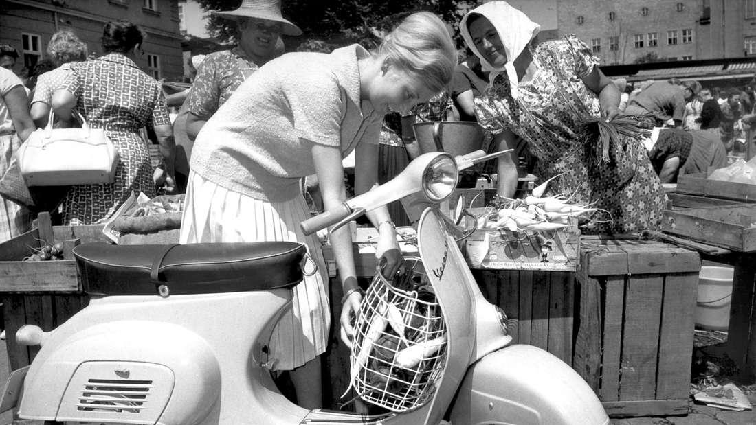 Kult-Roller und Mythos: Vespa Piaggio feiert 70. Geburtstag.