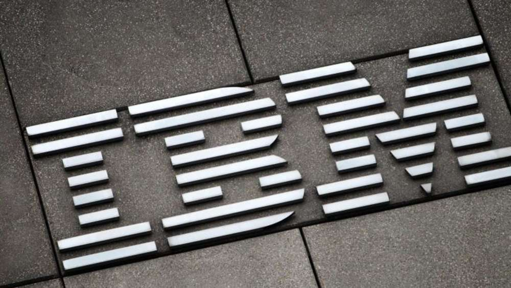 Das Logo der International Business Machines Corporation - IBM.