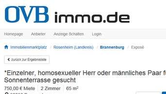 Schwule anzeige