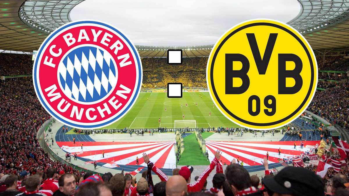 Fc Bayern München Gegen Borussia Dortmund Dfb Pokal Finale Im Live