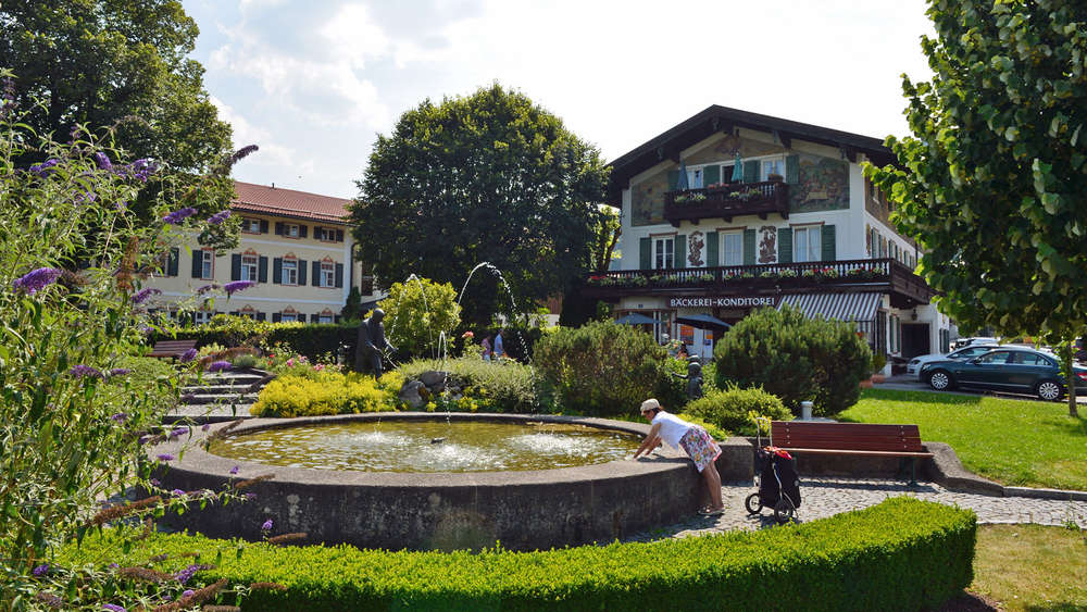 Lindenplatz in Bad Wiessee