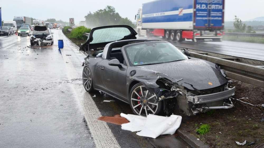 Unfall Porsche