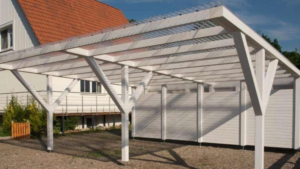 Schneller gebaut als die garage bausätze fürs carport wohnen