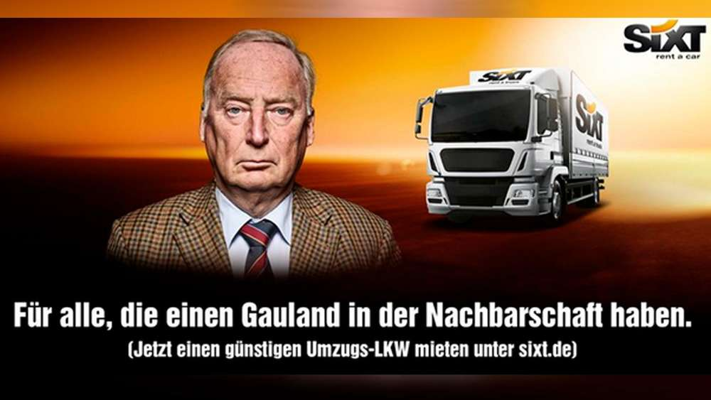 Werbekampagne Mit Afd Mann Umzug Gefallig Sixt Verspottet Gauland