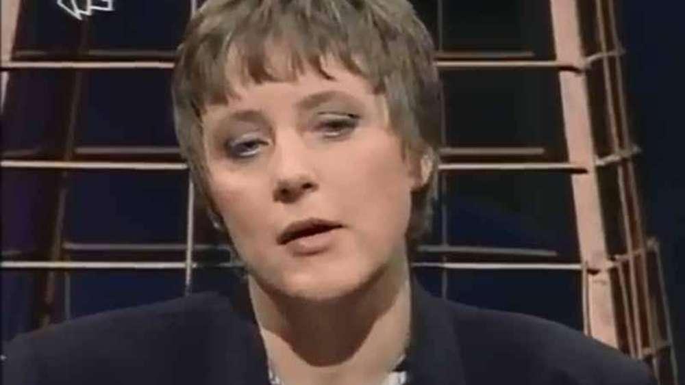Der Heiße Stuhl So Kampfeslustig War Die Junge Angela Merkel In Der