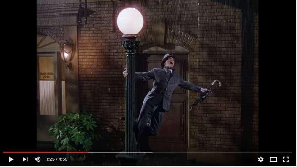 Lied mit regen im hintergrund