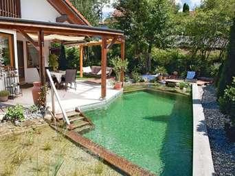 Schwimmen Auf Engem Raum Pools In Kleine Garten Bauen Wohnen