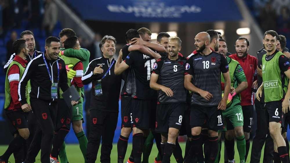 Nationalmannschaft Albanien