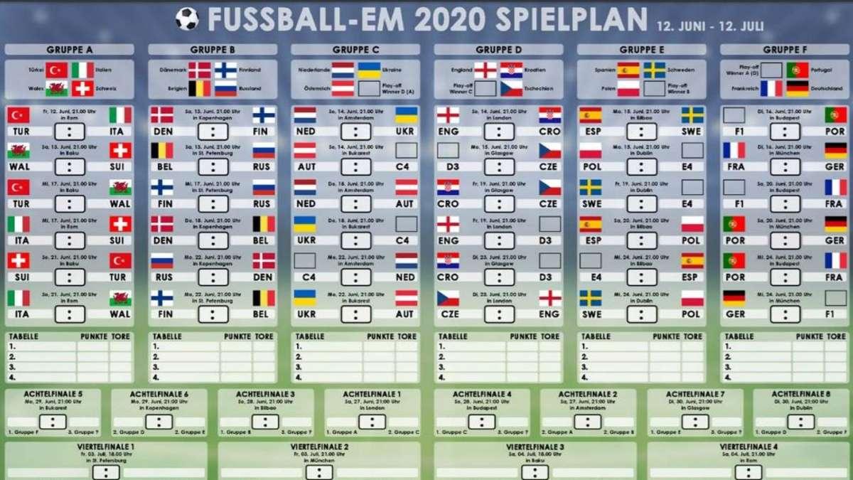Em Spielplan 2020 Ausdrucken
