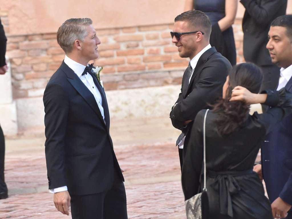 Hochzeit Von Bastian Schweinsteiger Und Ana Ivanovic In Venedig Newsblog Video Bilder Fussball