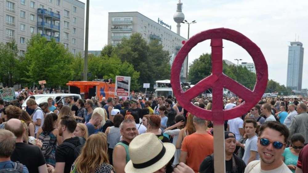 Berliner Tanzen Auf Zug Der Liebe Welt