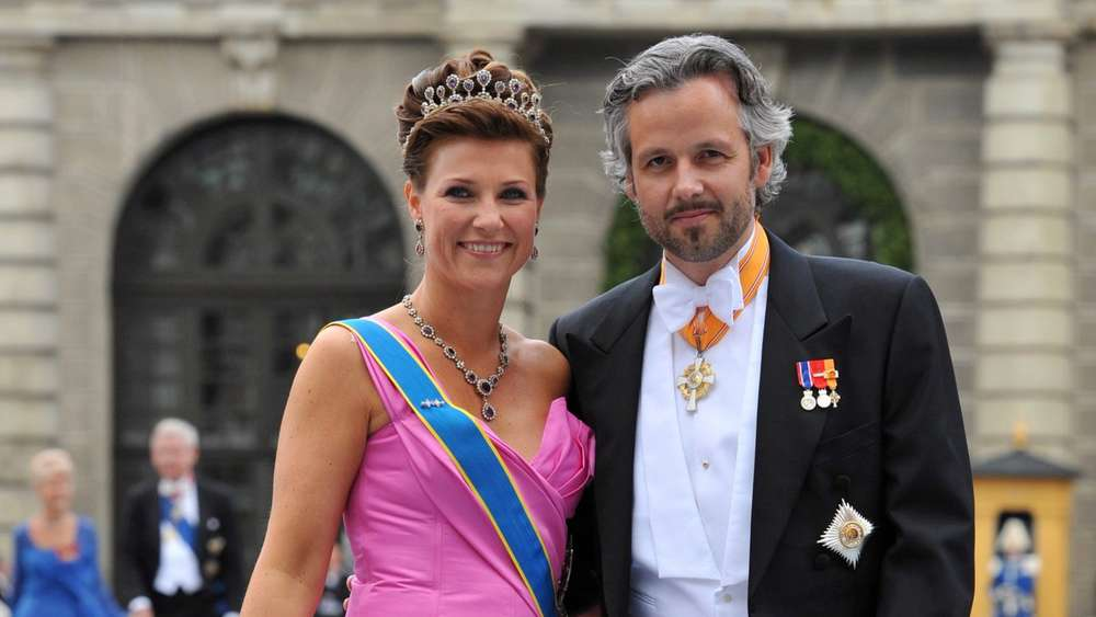 Princess Martha Louise of Norway and her husband Ari Behn