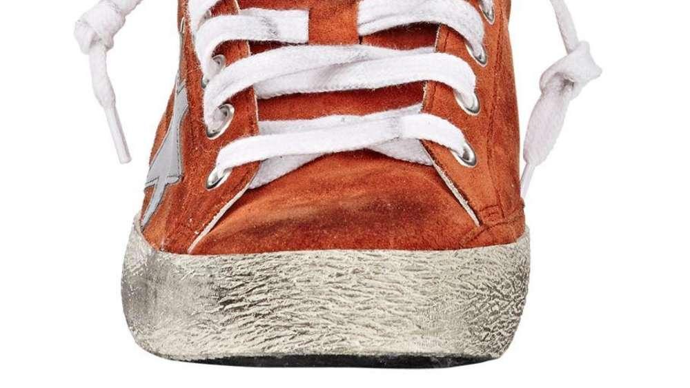 38fcb6abe3cb6b Diese Schuhe sind ausgelatscht und mit Klebeband geflickt - kosten aber 600  US-Dollar