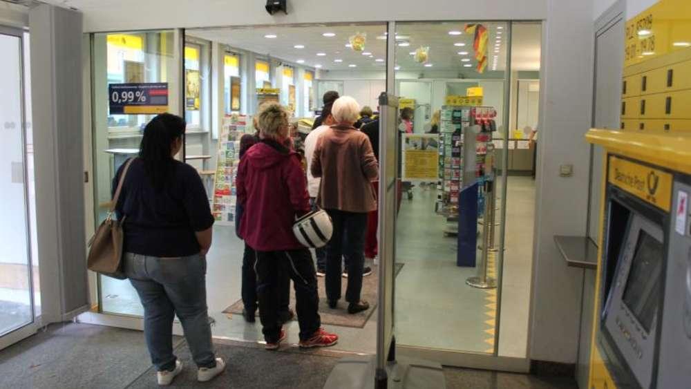 post postbank bahnhofstra e geschlossen personal dachau