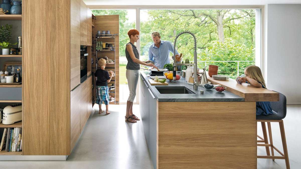 Kochen als Kommunikation | Wohnen